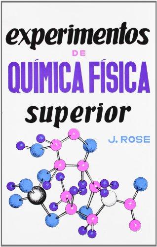 9788420001845: Experimentos de química física superior
