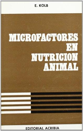 9788420002736: MICROFACTORES EN NUTRICION ANIMAL
