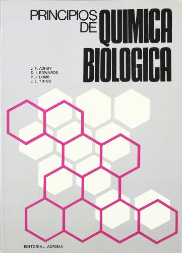 PRINCIPIOS DE QUIMICA BIOLOGICA: ASHBY