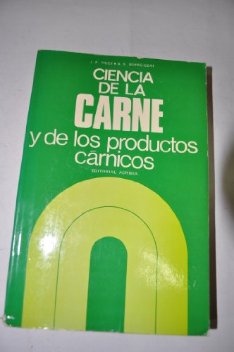 9788420003863: Ciencia de la carne y de los productos cárnicos