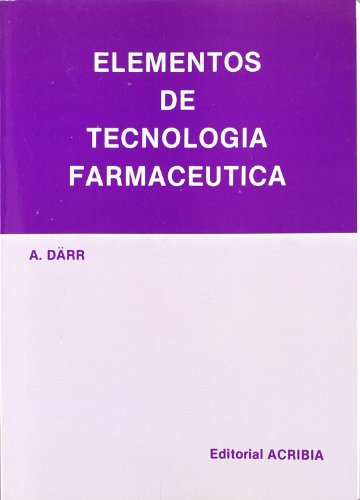 9788420005003: Elementos de Tecnología Farmaceutica