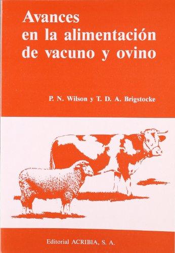 9788420006024: Avances en la alimentación del vacuno y ovino.