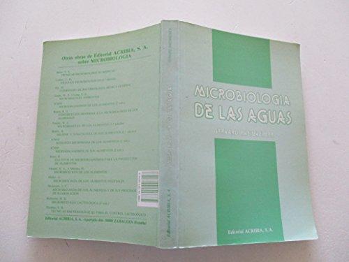 9788420006147: Microbiologia de Las Aguas (Spanish Edition)