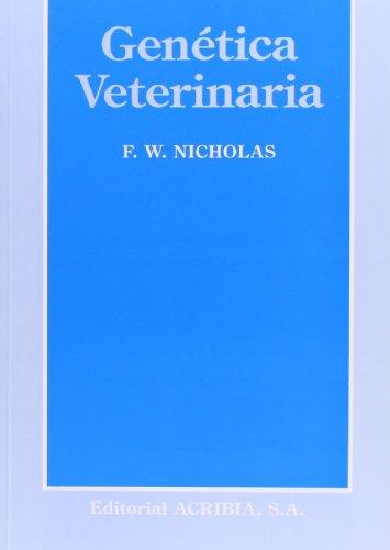 Genética veterinaria: NICHOLAS, F. W.