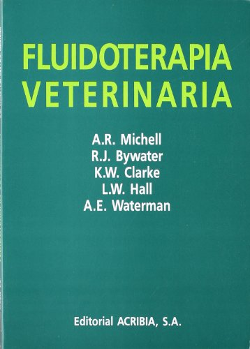 9788420007090: Fluidoterapia veterinaria