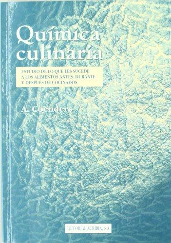 9788420008233: Quimica Culinaria (Spanish Edition)