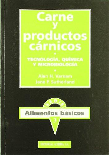 9788420008479: Carne y productos carnicos : tecnologia, quimica y microbiologia