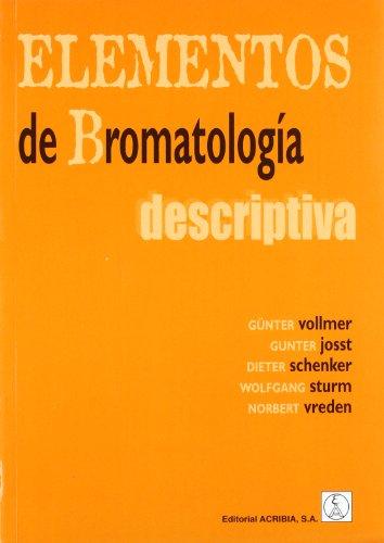 9788420008776: Elementos De Bromatologia Descriptiva