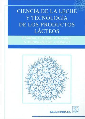 9788420009612: Ciencia de La Leche y Tecnologia de Los Productos Lacteos (Spanish Edition)