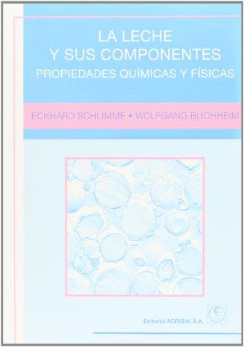 LECHE Y SUS COMPONENTES PROPIEDADES QUIMICAS: SCHLIMME