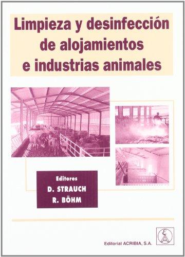 9788420010236: Limpieza y desinfección de alojamientos e industrias animales