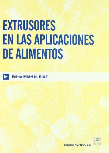 9788420010274: Extrusores en las aplicaciones de alimentos