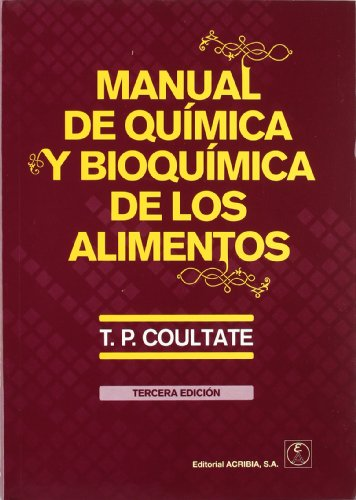 9788420010892: Manual de quimica y bioquimica de los alimentos