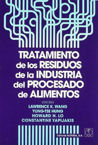 9788420011035: Tratamiento de los residuos de la industria del procesado de alimentos