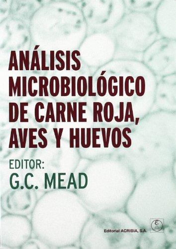 9788420011288: ANALISIS MICROBIOLOGICO DE CARNE ROJA, AVES Y HUEVOS (Spanish Edition)