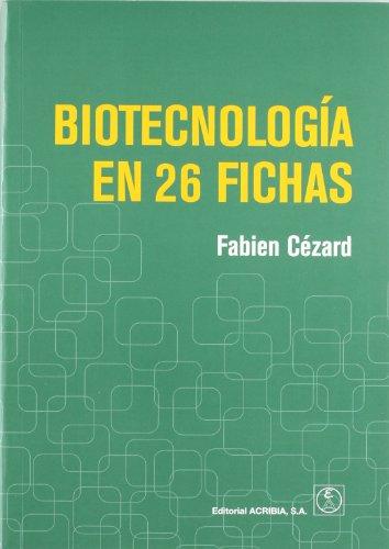 9788420011592: Biotecnología en 26 fichas
