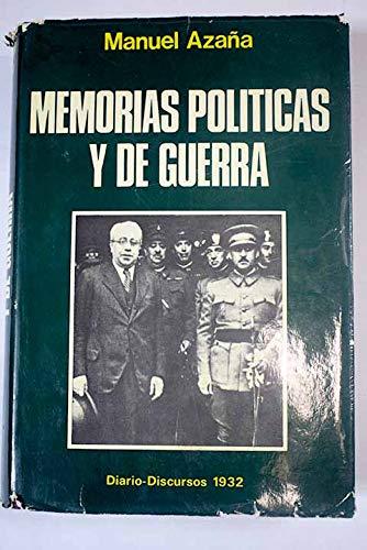 9788420201757: MEMORIAS POLÍTICAS Y DE GUERRA. TOMOS I-II.-III-IV