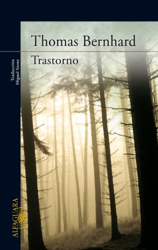 9788420407470: Trastorno (LITERATURAS)