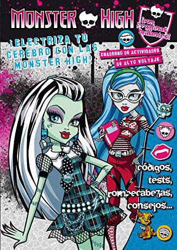 9788420412900: Monster High. Electriza tu cerebro. Cuaderno de actividades