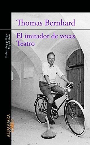9788420413198: El imitador de voces / Teatro (LITERATURAS)