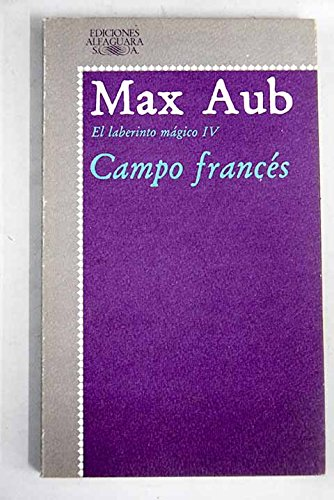 9788420420196: Campo frances. laberinto magico. (tomo 4)