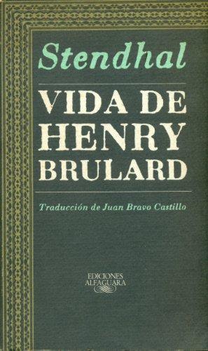 9788420424835: Vida de henry brulard