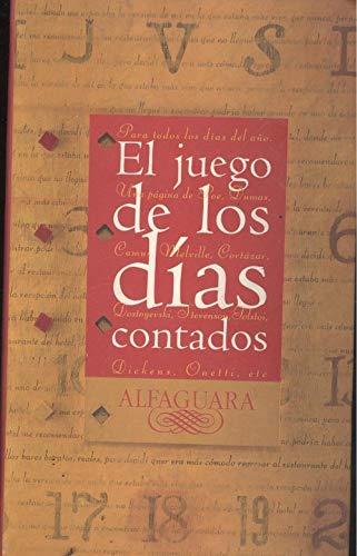 EL JUEGO DE LOS DIAS CONTADOS: VV.AA.