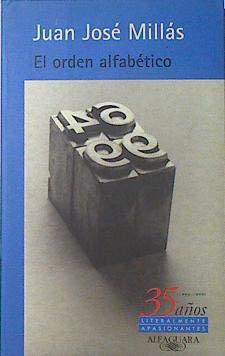 9788420441436: El orden alfabetico (35º aniversario)***