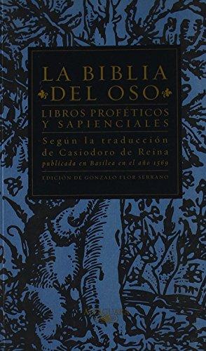 9788420442631: Libros Proféticos y Sapienciales - La Biblia Del Oso