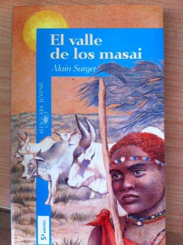 9788420444710: Valle de los masais, el (Algaguara 12 Años (zaharra)