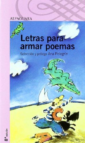 Letras para armar poemas (Paperback): Ana María Pelegrín