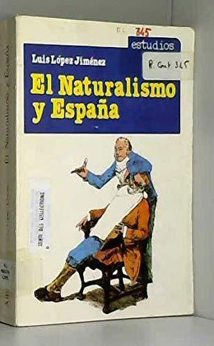 9788420503554: El naturalismo y España: Valera frente a Zola (Estudios) (Spanish Edition)
