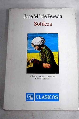 9788420503844: Sotileza (Clásicos) (Spanish Edition)