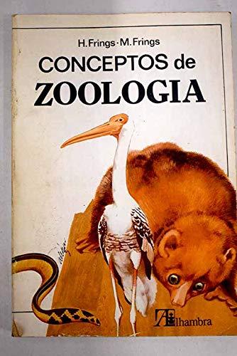 9788420505053: Conceptos de Zoología