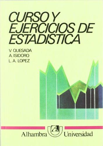 Curso y ejercicios de estadistica.: Aguilar Peris, José/y