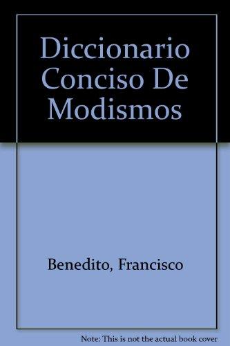 9788420513874: Diccionario conciso de modismos ingles-español, español-ingles