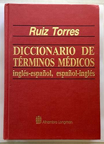 9788420518732: Diccionario De Terminos Medicos, Ingles-Espanol, Espanol-Ingles