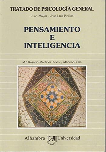 9788420519807: PENSAMIENTO E INTELIGENCIA