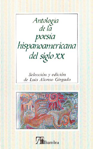 9788420519876: Al/antologia poesía hisp. XX (Alhambra)