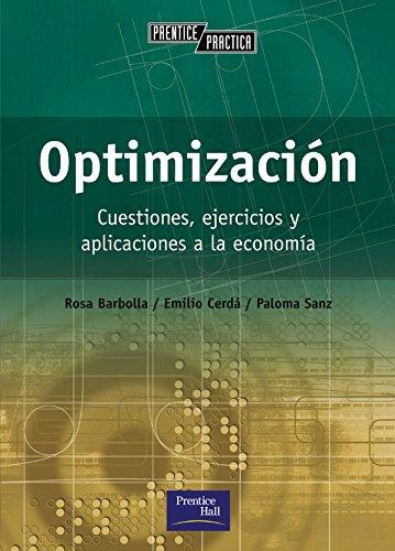9788420529929: Optimizacion - Cuestiones Ejercicios y Aplicacione (Spanish Edition)