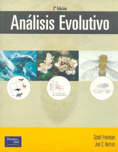 Analisis Evolutivo (Spanish Edition): Scott Freeman