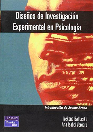 9788420534473: Disenos de Investigacion Experimental En Psicologia (Spanish Edition)