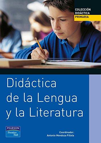 Didáctica de la lengua y la literatura: Antonio . .