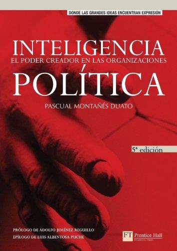 9788420537320: Inteligencia Politica - El Poder Creador En Las Organizaciones (Spanish Edition)