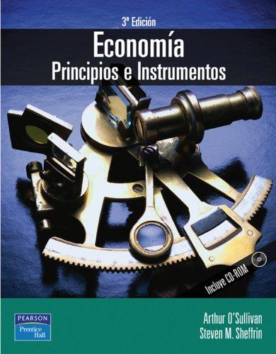 9788420539096: Economia Principios E Instrumentos