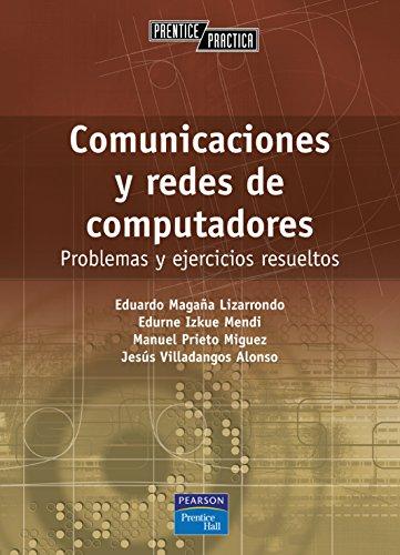 9788420539201: Comunicaciones y redes de computadores: Problemas y ejercicios resueltos