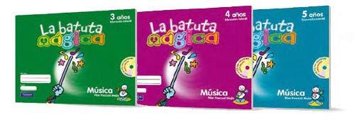 9788420539768: La Batuta Mágica 3 Años Fichas Del Alumno