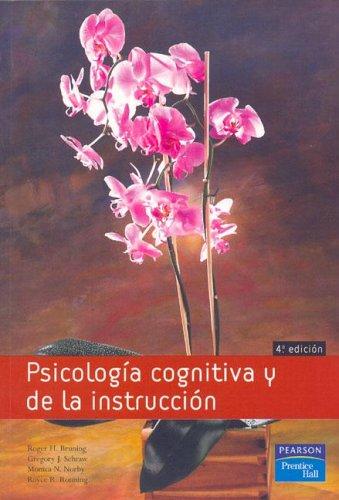 9788420543468: Psicologia Cognitiva de La Instruccion (Spanish Edition)