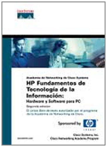 9788420544595: Cisco press: hp fundamentos de tecnología