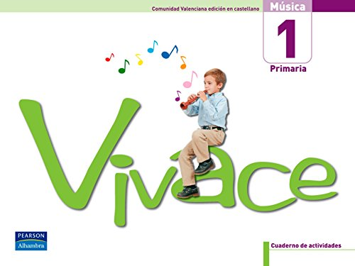 9788420551036: (06).VIVACE 1º.PRIM *VALENCIA* (CUADERNO+CD.MUSICA CASTELLA